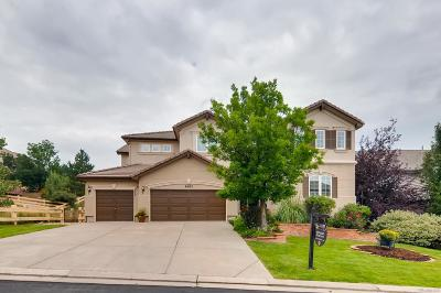 Castle Pines CO Single Family Home Under Contract: $835,000