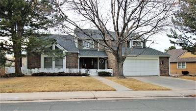 Centennial Single Family Home Under Contract: 8079 South Oneida Court