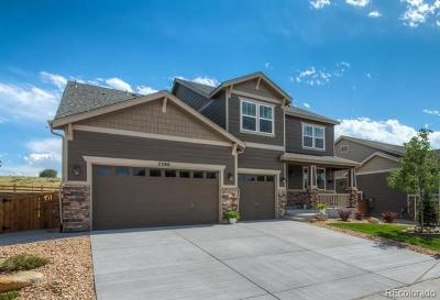 Castle Rock CO Single Family Home Active: $639,000
