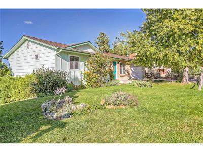 Morrison Single Family Home Under Contract: 12347 West Grand Place
