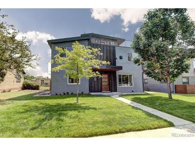 Denver Single Family Home Active: 2048 Meade Street
