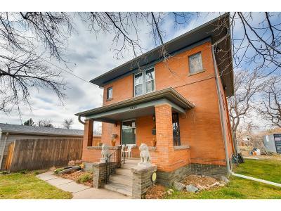 Denver Single Family Home Active: 4619 Tejon Street