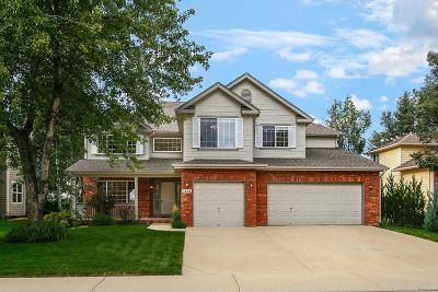 Longmont Single Family Home Active: 2432 Eagleview Circle