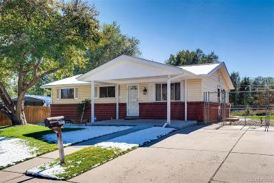 Denver Single Family Home Active: 2620 West Asbury Avenue