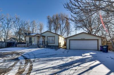 Denver Single Family Home Active: 2450 West Mississippi Avenue