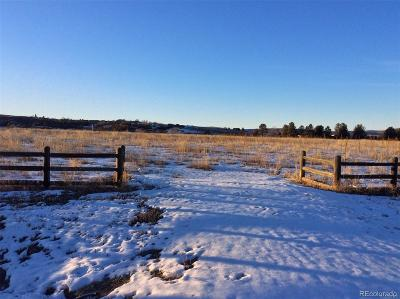 Sedalia CO Residential Lots & Land Active: $440,000