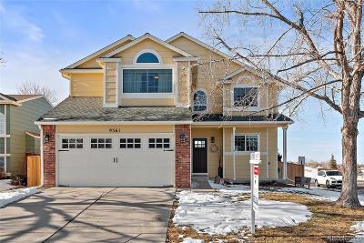 Highlands Ranch Single Family Home Under Contract: 9361 Weeping Willow Court