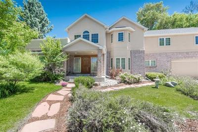 Aurora, Centennial, Denver, Englewood, Greenwood Village, Littleton, Arvada, Broomfield, Edgewater, Evergreen, Golden, Lakewood, Westminster, Wheat Ridge Single Family Home Active: 7682 East Arizona Drive