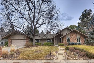 Boulder CO Single Family Home Under Contract: $899,000