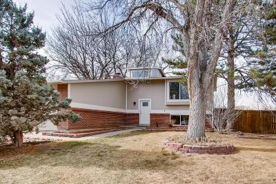 Arvada Single Family Home Under Contract: 9627 West 75th Way
