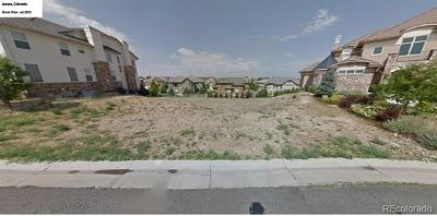 Aurora Residential Lots & Land Active: 6919 South Odessa Street