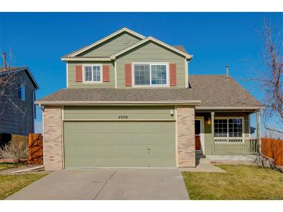 Castle Rock Single Family Home Active: 4959 Parsons Way