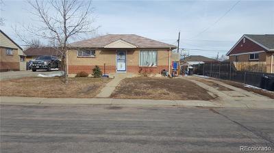 Denver Single Family Home Under Contract: 6996 Warren Drive