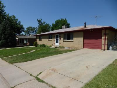 Arvada Single Family Home Under Contract: 6163 Hoyt Court