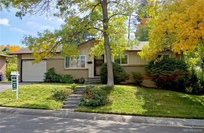 Single Family Home Under Contract: 7992 East Hampden Circle