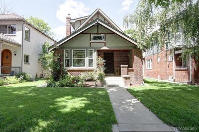 Denver Single Family Home Active: 689 South Gilpin Street