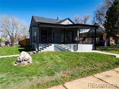 Denver Single Family Home Under Contract: 1746 Grove Street