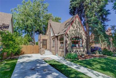 Denver Single Family Home Active: 1543 Ivanhoe Street