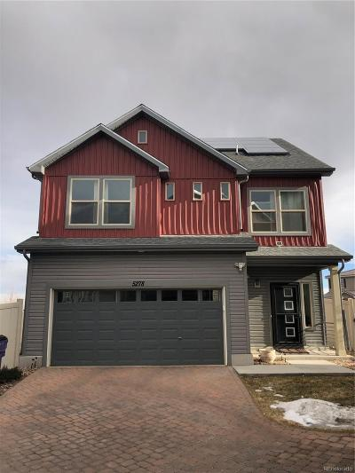 Denver County Single Family Home Active: 5278 Andes Way
