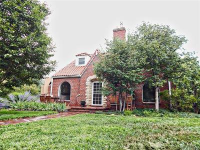 Denver Single Family Home Active: 1700 Niagara Street