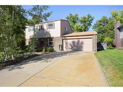 Broomfield Single Family Home Under Contract: 1061 Cottonwood Street