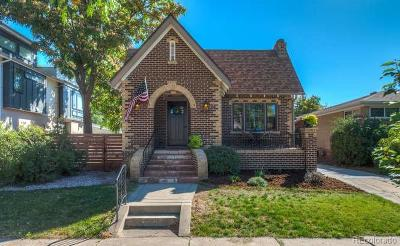 Denver Single Family Home Active: 4320 Vallejo Street