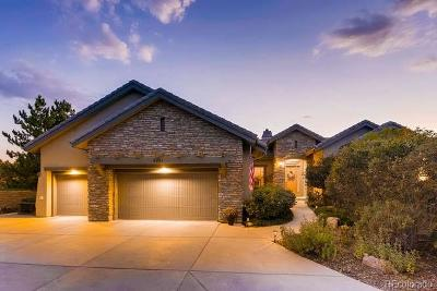 Castle Rock Single Family Home Under Contract: 6231 Oxford Peak Lane