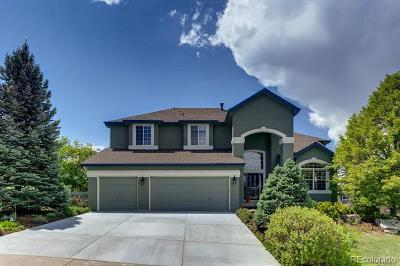 Littleton Single Family Home Active: 2482 West Dry Creek Court