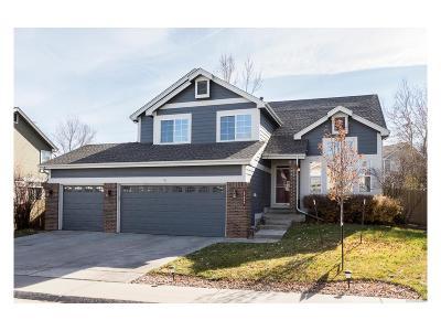 Parker Single Family Home Under Contract: 17044 Numa Place