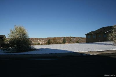Castle Rock Residential Lots & Land Active: 2048 Holmby Court