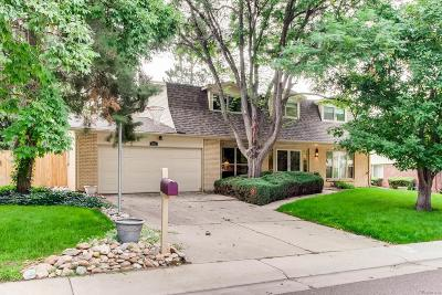 Littleton Single Family Home Active: 5519 West Hinsdale Avenue
