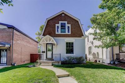Denver Single Family Home Active: 381 Clarkson Street