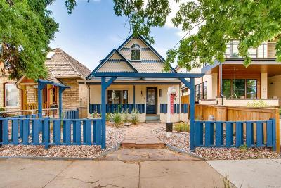 Denver Single Family Home Under Contract: 4459 West 30th Avenue
