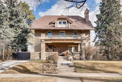 Denver Single Family Home Under Contract: 1750 Hudson Street