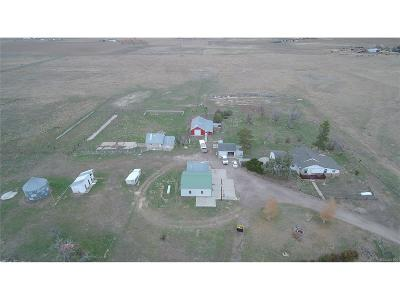 Arapahoe County Single Family Home Under Contract: 6183 South County Road 157