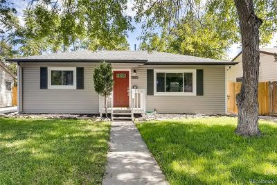 Aurora CO Single Family Home Active: $300,000