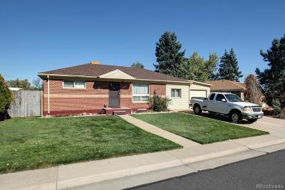 Northglenn Single Family Home Under Contract: 321 East 105th Avenue