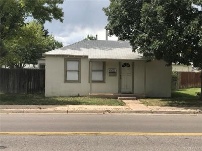 Englewood Single Family Home Active: 4825 South Logan Street