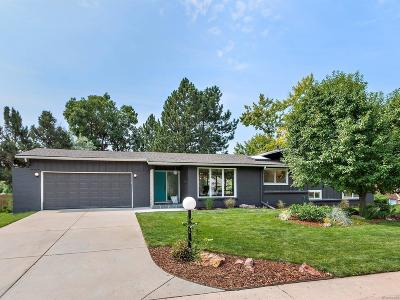 Littleton Single Family Home Under Contract: 5660 West Plymouth Drive