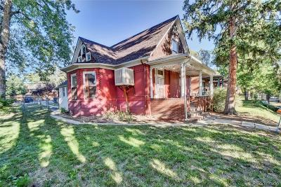 Single Family Home Active: 3253 Quitman Street