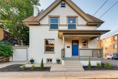 Denver Single Family Home Active: 2417 East 12th Avenue