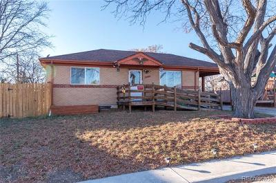 Denver Single Family Home Active: 7215 Inca Street