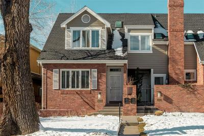 Denver Condo/Townhouse Active: 433 Garfield Street