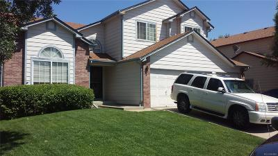 Aurora CO Single Family Home Active: $398,875