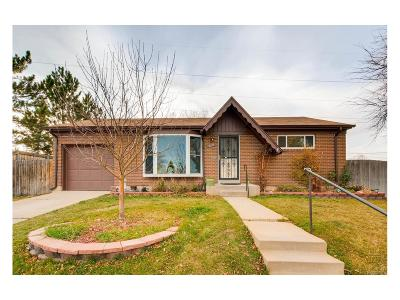 Northglenn Single Family Home Active: 10455 Clarkson Street
