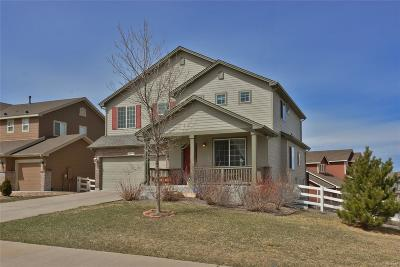 Castle Rock Single Family Home Active: 2619 Northview Place