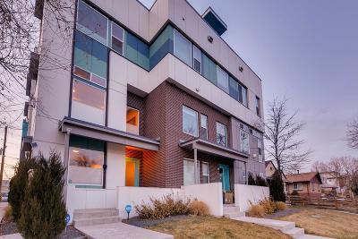 Denver Condo/Townhouse Under Contract: 1733 Grove Street #4