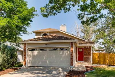 Lafayette Single Family Home Under Contract: 2400 East Cherrywood Drive