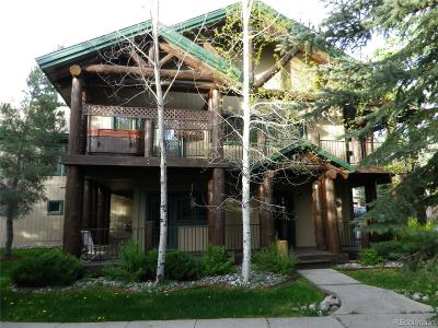 Steamboat Springs Condo/Townhouse Active: 1710 Saddle Creek Court
