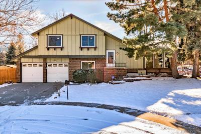 Arvada Single Family Home Under Contract: 8772 West 79th Avenue